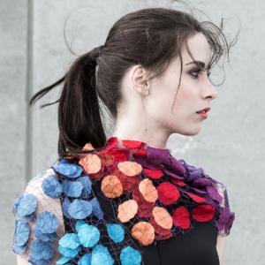 Artistic scarves-decorative eyecatcher